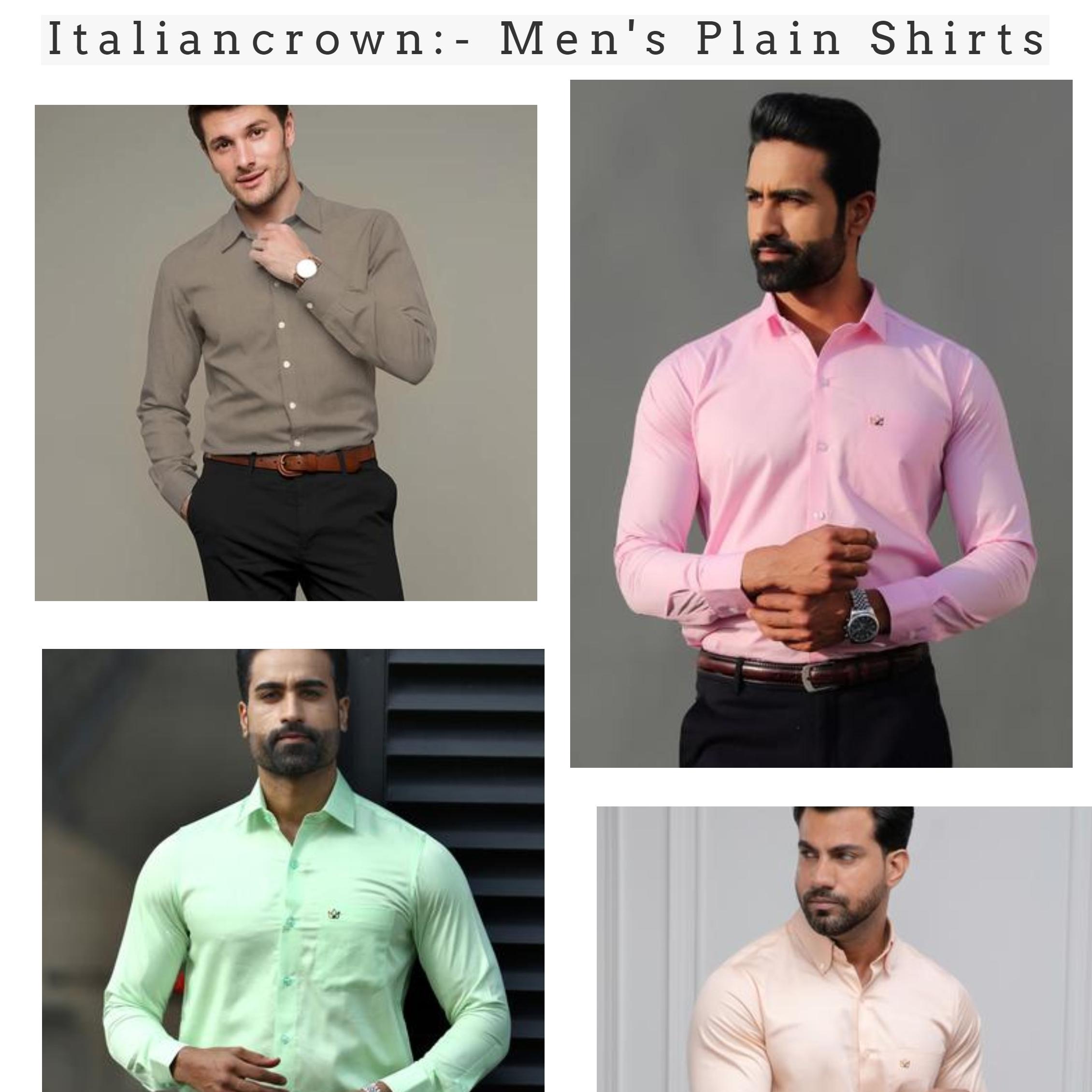 Italiancrown Plainshirt